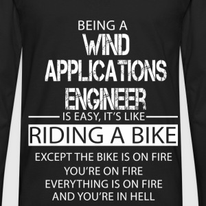 Wind Applications Engineer T-Shirts - Men's Premium Long Sleeve T-Shirt