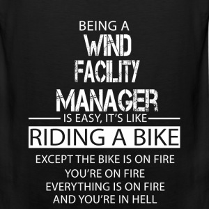 Wind Facility Manager T-Shirts - Men's Premium Tank