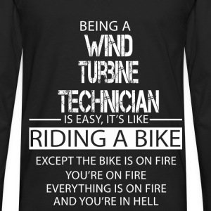 Wind Turbine Technician T-Shirts - Men's Premium Long Sleeve T-Shirt