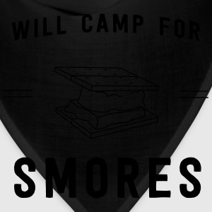 Will camp for smores T-Shirts - Bandana