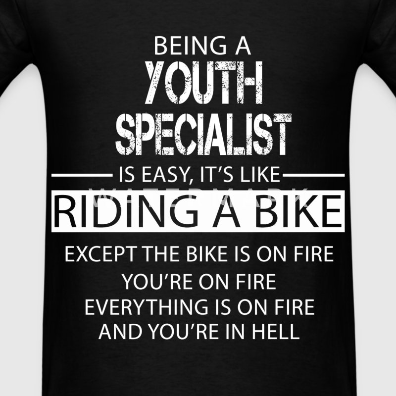 Youth Specialist T-Shirts - Men's T-Shirt