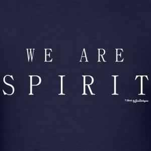 We Are Spirit, T Shirts - White Long Sleeve Shirts - Men's T-Shirt