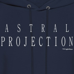 Astral Projection T Shirts - White Long Sleeve Shirts - Men's Hoodie