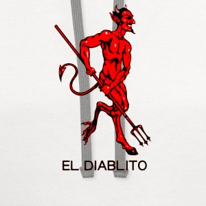El Diablito The Devil Tarot Cards Readings - Contrast Hoodie