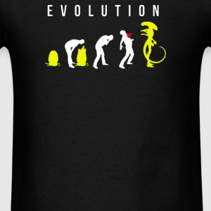 Evolution of Alien - Men's T-Shirt