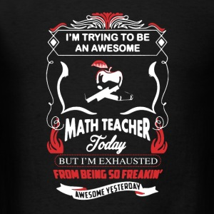 Awesome Math Teacher - Men's T-Shirt