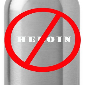 No Heroin - Water Bottle