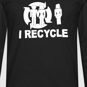 I Recycle - Men's Premium Long Sleeve T-Shirt