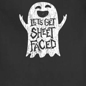 Lets Get Sheet Faced Ghost - Adjustable Apron