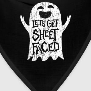 Lets Get Sheet Faced Ghost - Bandana