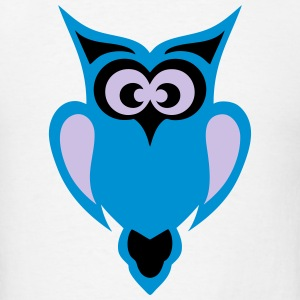 baby bird owl 4 Hoodies - Men's T-Shirt