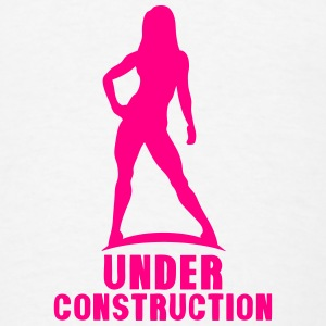 under construction bodybuilding fitness Tanks - Men's T-Shirt