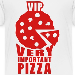 vip very important pizza 1 Kids' Shirts - Toddler Premium T-Shirt