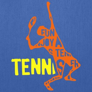tennis text 204 words T-Shirts - Tote Bag