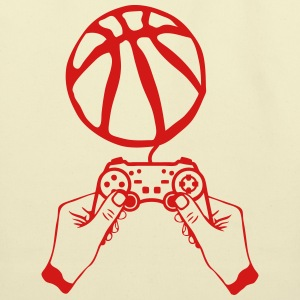 basketball hand paddle lever joystick T-Shirts - Eco-Friendly Cotton Tote