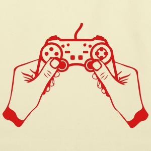 hand joystick game controller paddle Kids' Shirts - Eco-Friendly Cotton Tote