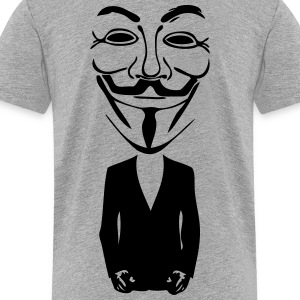 anonymous mask 5 Kids' Shirts - Toddler Premium T-Shirt