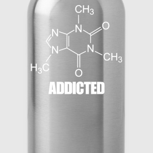 Caffeine Addicted - Water Bottle