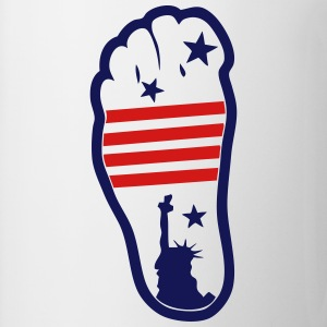 american foot 1 flag T-Shirts - Coffee/Tea Mug