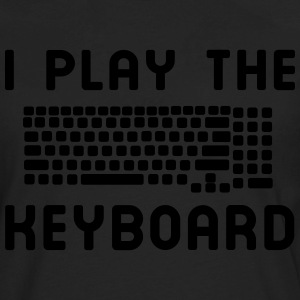 I play the keyboard T-Shirts - Men's Premium Long Sleeve T-Shirt