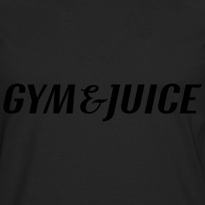 Gym and Juice Tanks - Men's Premium Long Sleeve T-Shirt