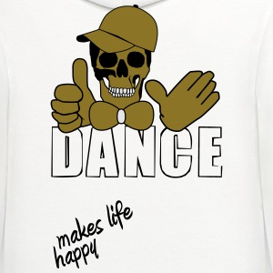 dance makes life happy T-Shirts - Contrast Hoodie
