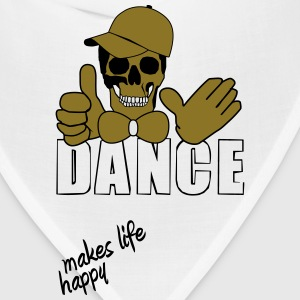 dance makes life happy T-Shirts - Bandana