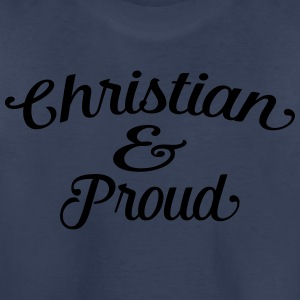 christian and proud Kids' Shirts - Toddler Premium T-Shirt