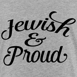 jewish and proud Kids' Shirts - Toddler Premium T-Shirt