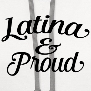 latina and proud Tanks - Contrast Hoodie