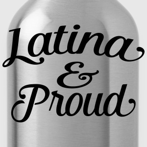latina and proud T-Shirts - Water Bottle