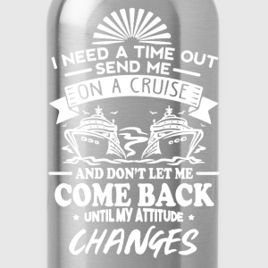 On A Cruise - Water Bottle