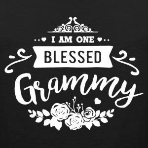 One Blessed Grammy Shirt - Men's Premium Tank