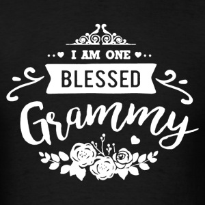 One Blessed Grammy Shirt - Men's T-Shirt