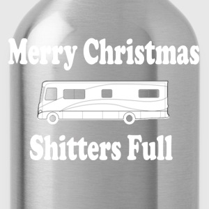 Christmas Vacation - Merry Christmas Shitters Full T-Shirts - Water Bottle
