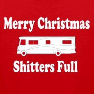 Christmas Vacation - Merry Christmas Shitters Full T-Shirts - Men's Premium Tank