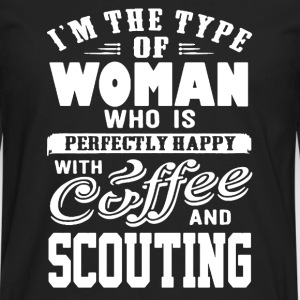 Woman Scout Shirt - Men's Premium Long Sleeve T-Shirt