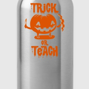 Trick or Teach Halloween Costume T-Shirts - Water Bottle