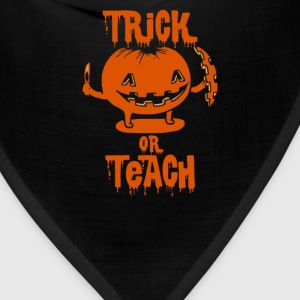 Trick or Teach Halloween Costume T-Shirts - Bandana