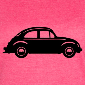 Beetle Car (in Profile) Tanks - Women's Vintage Sport T-Shirt