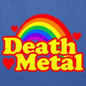 FUNNY DEATH METAL RAINBOW - Tote Bag