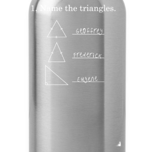 Name the Triangles - Water Bottle