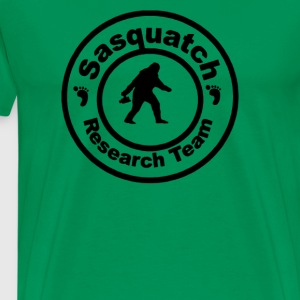 EXTRA LARGE SASQUATCH BIGFOOT RESEARCH TEAM - Men's Premium T-Shirt