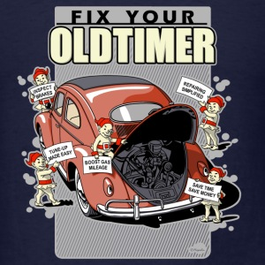 Fix your Oldtimer (V.1) Long Sleeve Shirts - Men's T-Shirt