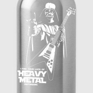 Funny Darth Vader Heavy Metal - Water Bottle