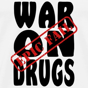 War on Drugs Epic Fail Tanks - Men's Premium T-Shirt