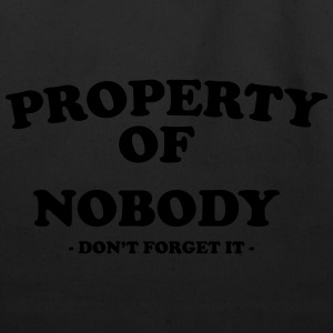 Property of nobody T-Shirts - Eco-Friendly Cotton Tote