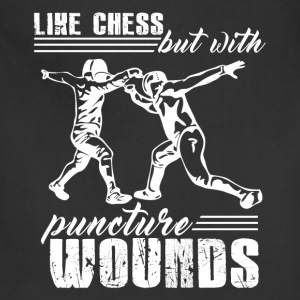 Fencing Is Like Chess - Adjustable Apron