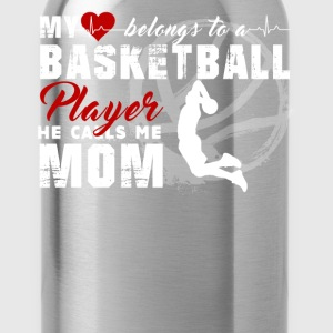Basketball Mom Shirt - Water Bottle