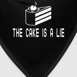 The Cake Is A Lie T-Shirts - Bandana